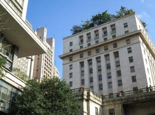 Edifício Matarazzo. Actual sede del ayuntamiento de São Paulo. Diseñado por el arquitecto italiano Marcello Piacentini. Fue inaugurado a finales de la década de los 30 del siglo pasado.