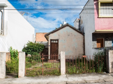 Así eran las casa en São Paulo no hace mucho tiempo.
