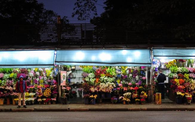 FLORES A TODAS HORAS Si estás en São Paulo y se te olvidó comprar flores no te preocupes, algunos de los puestos de la Avenida Doctor Arnaldo permanecen abiertos 24 horas.
