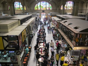 Mercado Municipal de São Paulo. Inaugurado en 1933.