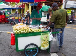 Vendedor de maíz.